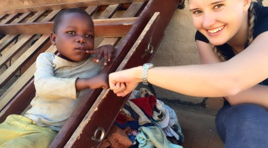 E'Pap Feeding Scheme in Matobo Hills